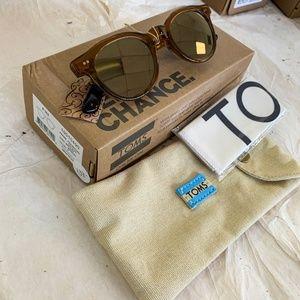 Toms Fin Bronze Mirror Sunglasses